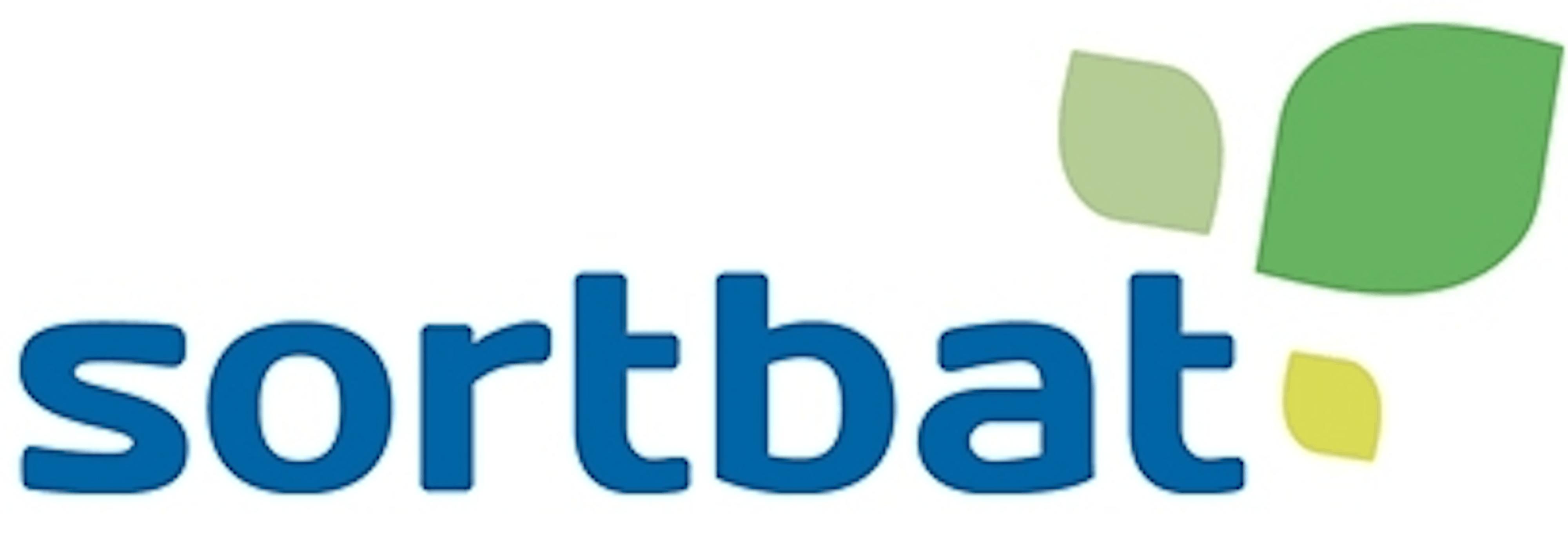 Sortbat logo
